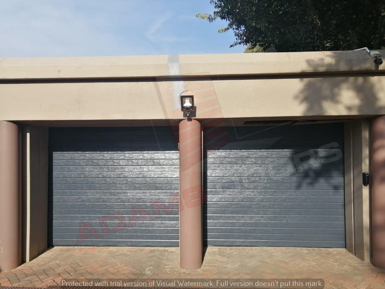 2x single charcoal contemp doors 2