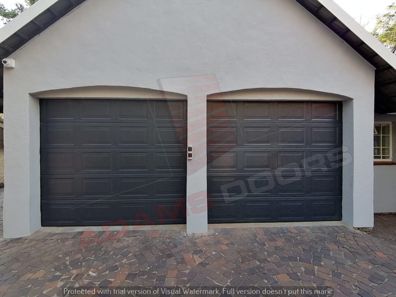 2x single charcoal statesman doors