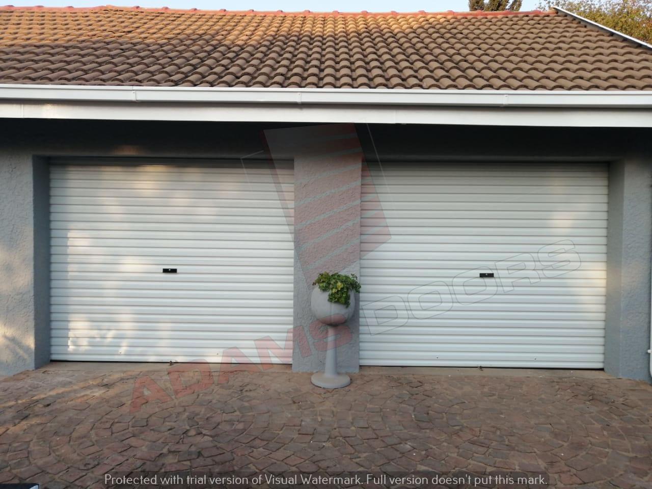 2x single White RAD Doors