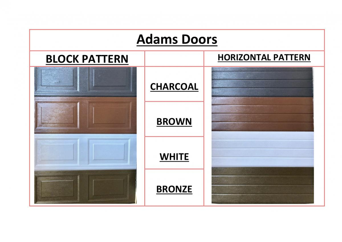 Steel Door Patterns