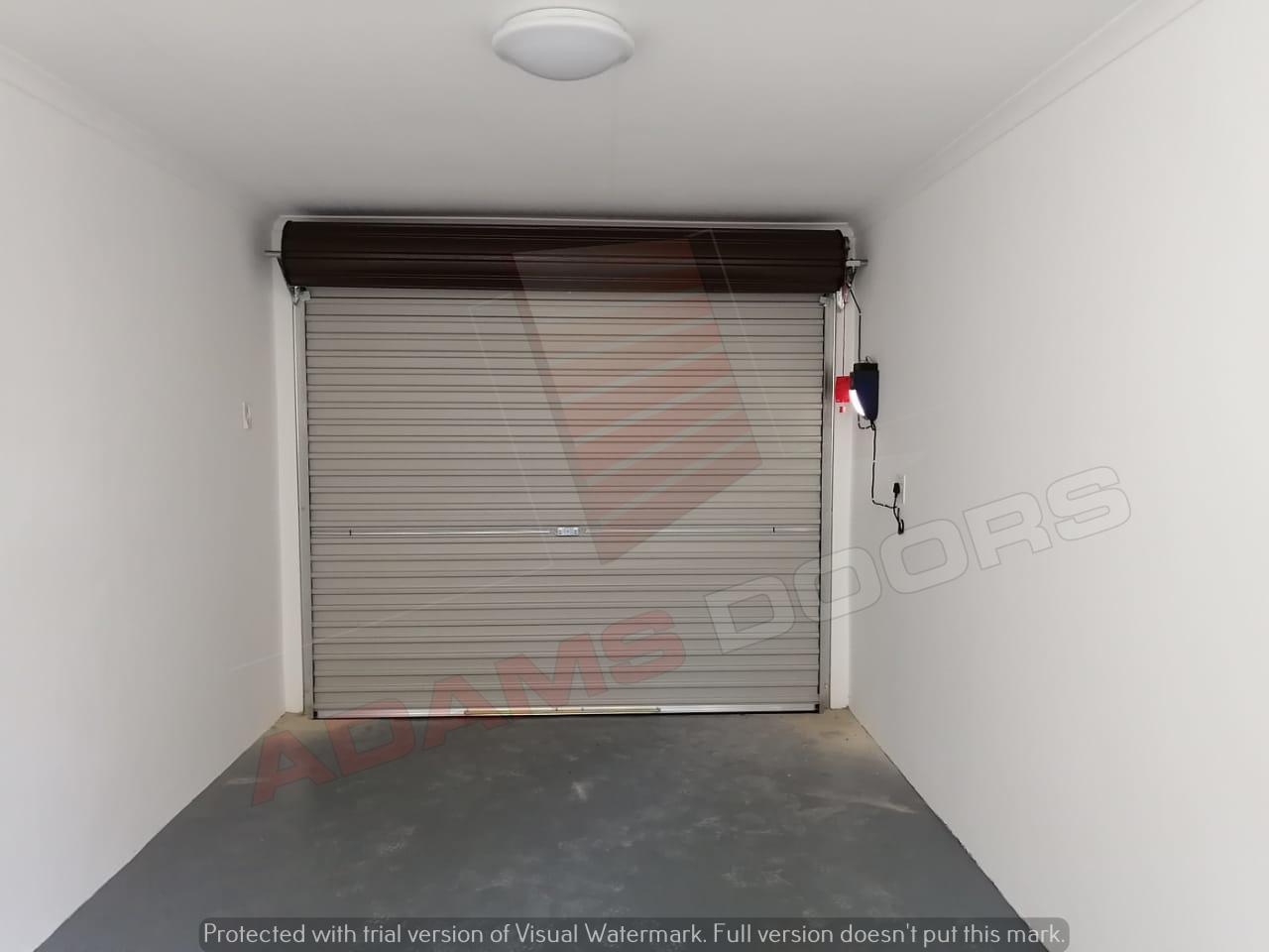 Single Brown RAD door 2 - inside view