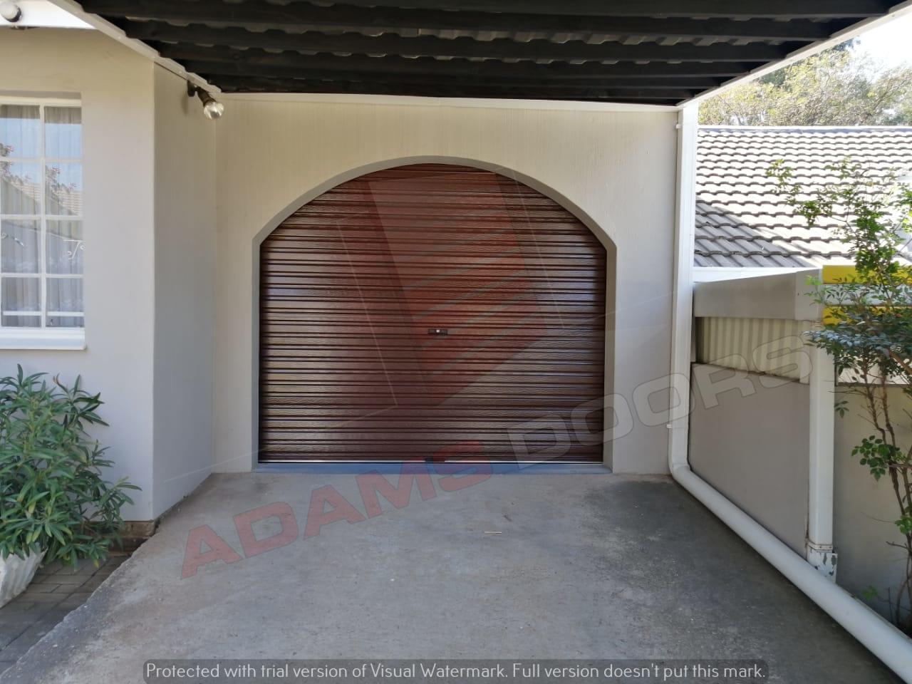 Single Brown Rad Door 2