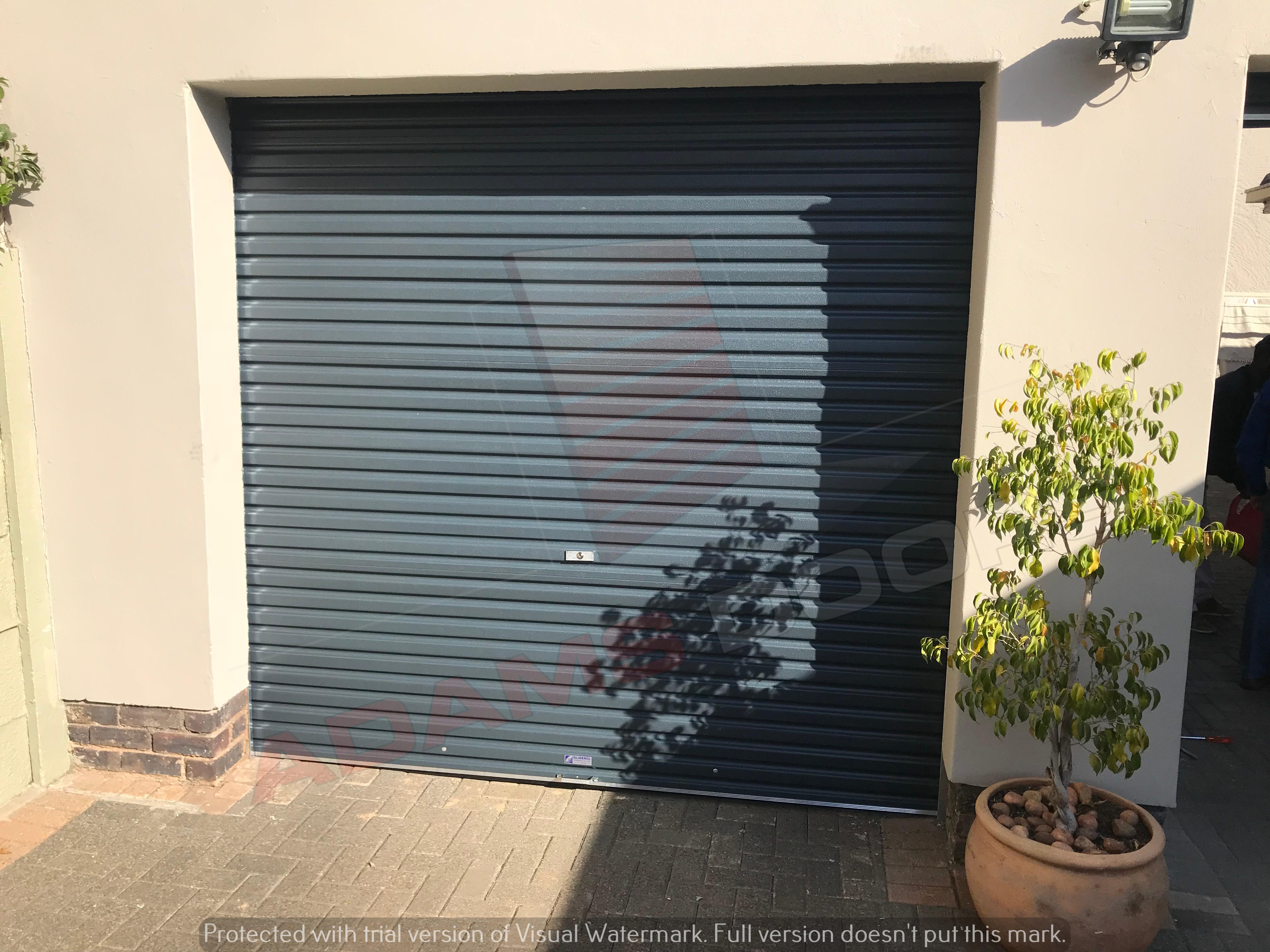 Single Charcoal Rad door